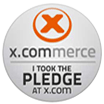 My x.commerce pledge